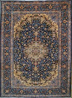 Isfahan Silk Persian Rug | Exclusive collection of rugs and tableau rugs - Treasure Gallery Isfahan Silk Persian Rug You pay: $9,900.00 Retail Price: $19,900.00 You Save: 50% ($10,000.00) Item#: CS-I1 Category: Medium(6x9-8x11) Persian Rugs Design:  Size: 200 x 310 (cm)      6' 6 x 10' 2 (ft) Origin: Persian, Isfahan Foundation: Silk Material: Wool & Silk Weave: 100% Hand Woven Age: Brand New KPSI: 700