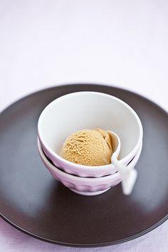 gelato al caramello salato