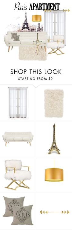 """paris apartment"" by brookbe ❤ liked on Polyvore featuring interior, interiors, interior design, home, home decor, interior decorating, Nordstrom, Storm Furniture and parisapartment"