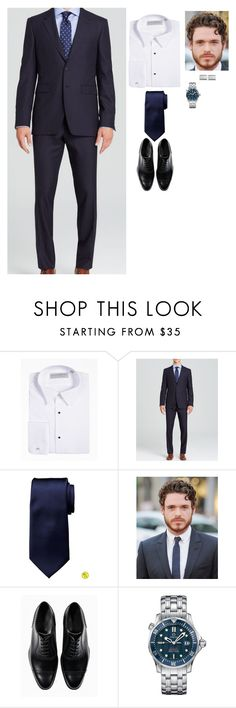 """""""Engagement Announcement"""" by nicholasbourbon ❤ liked on Polyvore featuring Burberry, Banana Republic, James Bond 007 and Blue Nile"""