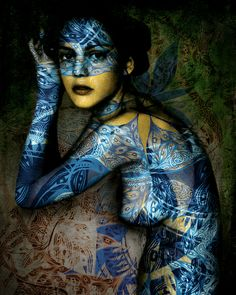 Printed Skin - Contemporary Body Art | Patternbank - via http://bit.ly/epinner