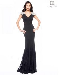 Lucci Lu | Order Online, in Store, or by Phone | Party Dress Express | 657 Quarry Street | Fall River, MA | 508-677-1575 |  #LucciLu #CharityBall #Wedding #Gala #SocialOccasion #SpecialEvent
