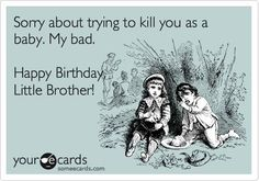 funny jokes about brothers - Google Search