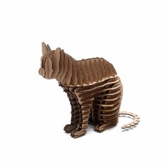 Halloween Cat 3d Puzzle Cute Kitty Decoration Model Paper Craft Toys DIY Cardboard Animal Papercraft Art
