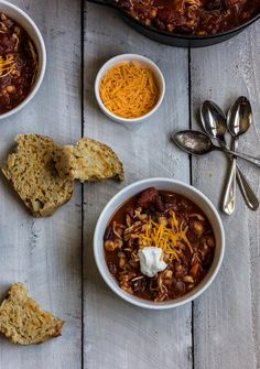 15 Hearty Bowls Of Chili To Curl Up With This Fall