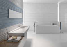 Tile Bathroom Room set - Makeup Range 250 mm x Modern bathroom room set. Room Tiles, Wall Tiles, Beautiful Bathrooms, Modern Bathroom, Room Set, Bathroom Inspiration, Sink, Bathtub, Luxury