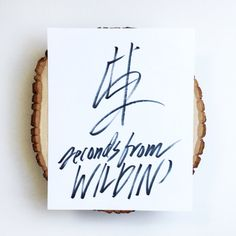"""Rihanna Lyrics Print """"4-5 Seconds from Wildin'"""" by MaxandMila on Etsy. This lyric-inspired hand-drawn print would add sass to any gallery wall."""