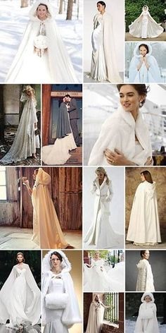 Great idea for winter weddings.