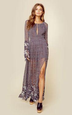 LA CUCARACHA MAXI DRESS   @ShopPlanetBlue