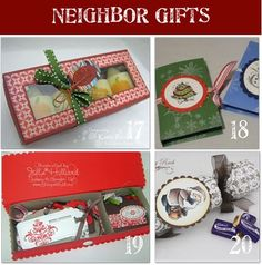 Neighbor Christmas Gifts