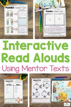 These interactive read aloud lesson plans use 75 different picture books to teach over 40 different reading comprehension skills. Each lesson has a carefully selected picture book to use as a mentor text. This resource is perfect for the 2nd, 3rd, 4th, or 5th grade classroom! #interactivereadalouds #readalouds #mentortexts Confusing Words, Interactive Read Aloud, Reading Comprehension Skills, 5th Grade Classroom, Making Connections, Text Features, Mentor Texts, Lesson Plans, Picture Books