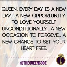 """""""Queen, every day is"""