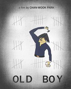 """Old Boy"" by Sebesvári Soma. Poster animado."