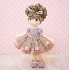 FREE SHIPPING Amigurumi crochet doll Gorgeous by BubblesAndBongo