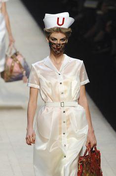 Louis Vuitton Spring 2008...nursing fashion