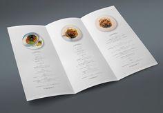 saconさんの提案 - 【継続発注あり】栃木県のフレンチ&イタリアンレストラン「ル・クール」の三つ折りリーフレット…
