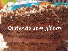 Bolo de aniversário sem glúten e leite Quitanda sem glúten