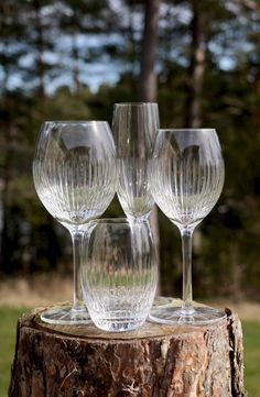 Alba hand made crystal glasses from Magnor Glassverk