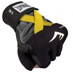 MMA Punching Gloves  Evergel Hand Wraps Yellow X Large      www.BeBodySmart.com