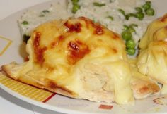 Dubarry csirkemell ahogy Zsuzsi készíti Meat Recipes, Cake Recipes, Hungarian Recipes, Naan, Poultry, Cauliflower, Mashed Potatoes, Macaroni And Cheese, Food And Drink