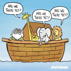 Are we there yet???...    - by Shoebox Cards