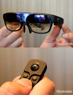 Look out, Google Glass. Here are the new ODG smart glasses and it's accompanying Bluetooth control ring.
