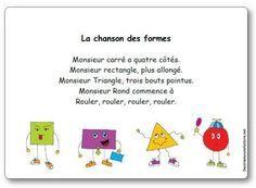 poems for kindergarten French Teaching Resources, Teaching French, Learning French For Kids, Autism Education, Kindergarten Lesson Plans, Kindergarten Library, Kindergarten Poems, Kindergarten Graduation, French Songs