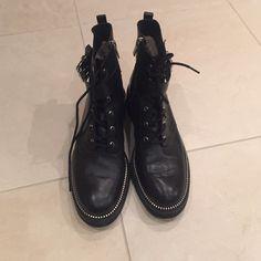 Michael kors combat boots M good condition- worn 5-8 times. MICHAEL Michael Kors Shoes Combat & Moto Boots