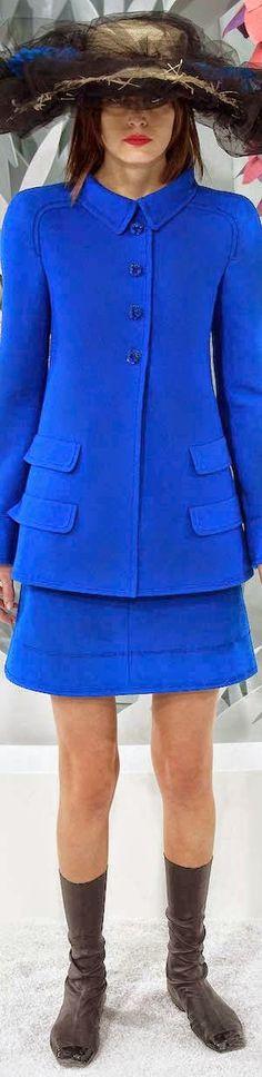 blue.quenalbertini: Chanel Spring 2015 Couture, LOLO