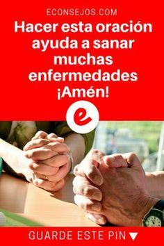 Oracion para sanar enfermos | Hacer esta oración ayuda a sanar muchas enfermedades ¡Amén! | Hacer esta oración ayuda a sanar muchas enfermedades ¡Amén!