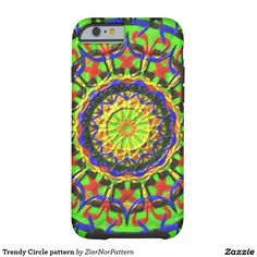 Trendy Circle pattern Tough iPhone 6 Case