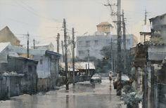 Chien Chung-Wei, watercolor