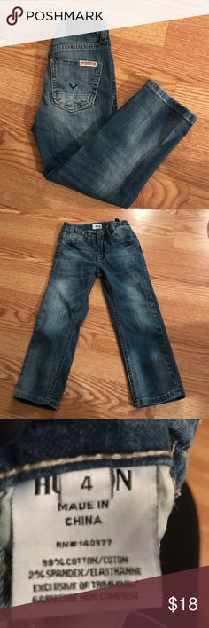 Toddler hudson jeans good condition Hudson Jeans Bottoms Jeans