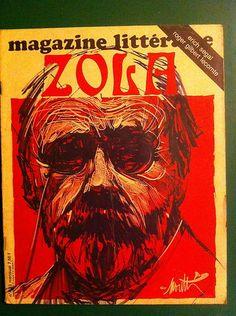 Magazine littéraire 132 (janvier 1978) Zola Roger Gilbert-Lecomte Pierre Minet