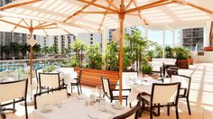 In-Yo Cafe, perfect for breakfast at Trump Hotel Waikiki Waikiki Beach, Honolulu Hawaii, Oahu, Honolulu Restaurants, Trump International Hotel, Most Luxurious Hotels, Five Star Hotel, Beach Walk, Hotels And Resorts