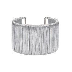 Sliver Textured Cuff Bracelet