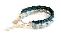 feeling blue gudbling bracelet