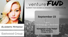 VentureFWD 2016 Chicago Speaker, Elizabeth Peterson, Eastwood Group