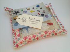 Floral+Eye+Spy+Rice+Bag+by+ZoeandGem+on+Etsy,+$29.50