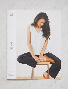 From designer Julie Hoover specially for Purl Soho, the Sayer tank is an easy breezy knit fit for warm weather's most fun activities: outdoor dinners, vacation ramblings, and hammock catnaps. With a V-neck on one side and a crewneck on the other, the Sayer gives you free rein to decide which one to wear in front and which in back... And to change your mind! Sayer's stockinette body, with slight A-line shaping and garter edges, is worked in two pieces and seamed together at the end. Knit up…
