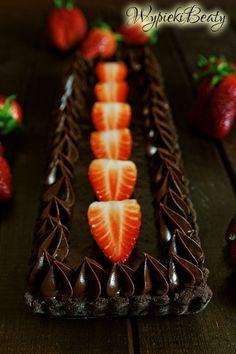 tarta czekoladowa_1 Easy Meals, Cake, Ethnic Recipes, Desserts, Sweets, Food, Pies, Tailgate Desserts, Deserts