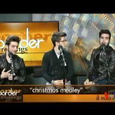 Jingles Bells by Ignazio ⛄⛄❄❄ #ilvolovers#ilvolo#ignazioboschetto#pierobarone#gianlucaginoble#christmas#song#jinglesbells#⛄⛄⛄ crédit goes to the owner