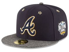 Stitched with attention to detail, the Atlanta Braves New Era 2016 MLB All Star Game Patch 59FIFTY Cap will sit in a place of pride with other valued souvenirs. Grommet holes feature special golden stars, sparking attention for the All-Star game patch and the Atlanta Braves logo on the crown.