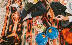 picnic southwest beach romance colorful