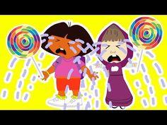 Masha Crying Spiderman vs Dora her Lollipop masha and the bear