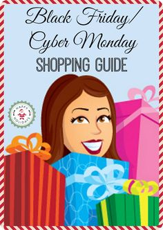 Black Friday / Cyber Monday Shopping Guide - Boston mom review blog
