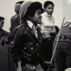 Young Michael Jackson.