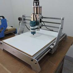 CNC Router - Kit Mecânico A6550 Hobby - JDR Projetos e Componentes