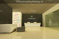 Office branding Mockup v2 by aivos on @creativemarket