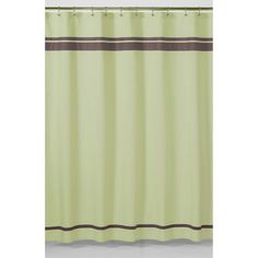 Green and Brown Hotel Shower Curtain   Overstock.com